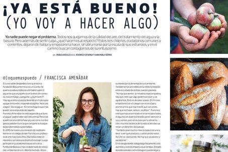 Revista MasDeco Francisca Amenabar Sustentabilidad 2018